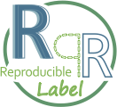 Reproducible Label logo